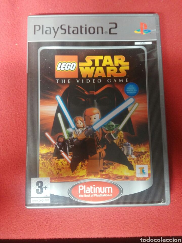 STAR WARS II THE VIDEO GAME (Juguetes - Videojuegos y Consolas - Sony - PS1)