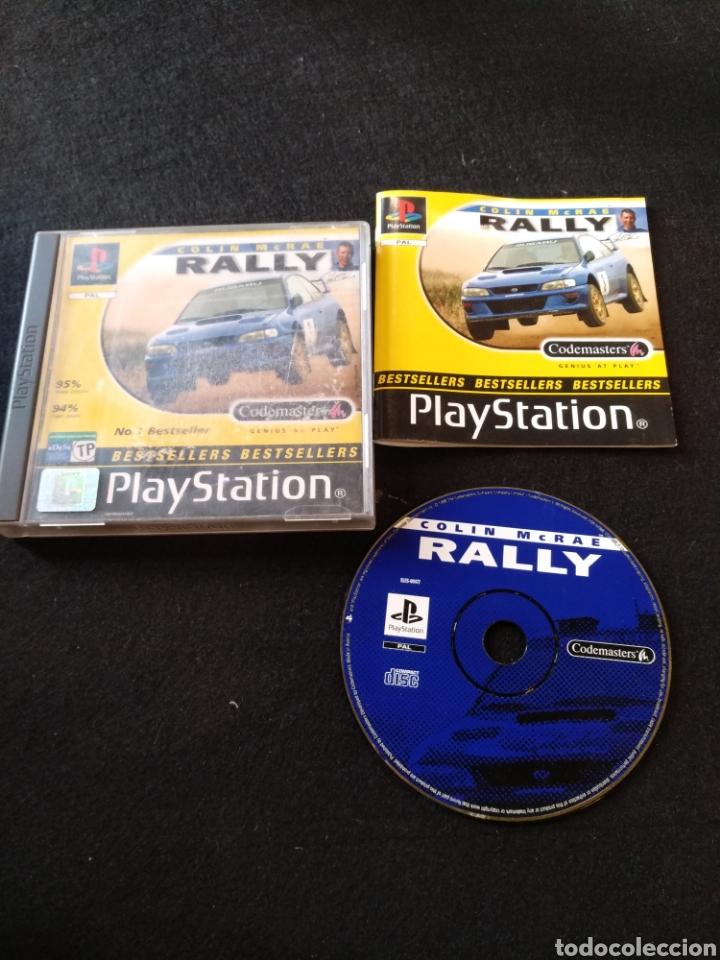 PLAYSTATION, COLIN MCRAE RALLY, PAL, PS1 (Juguetes - Videojuegos y Consolas - Sony - PS1)