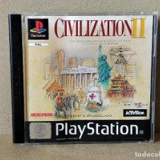Videojuegos y Consolas: JUEGO VIDEOJUEGO PLAYSTATION PS1 - PSX PAL - CIVILIZATION II - COMPLETO - (CON TABLA DE ADELANTOS). Lote 194710851
