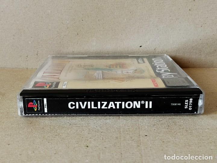 Videojuegos y Consolas: JUEGO VIDEOJUEGO PLAYSTATION PS1 - PSX PAL - CIVILIZATION II - COMPLETO - (CON TABLA DE ADELANTOS) - Foto 4 - 194710851