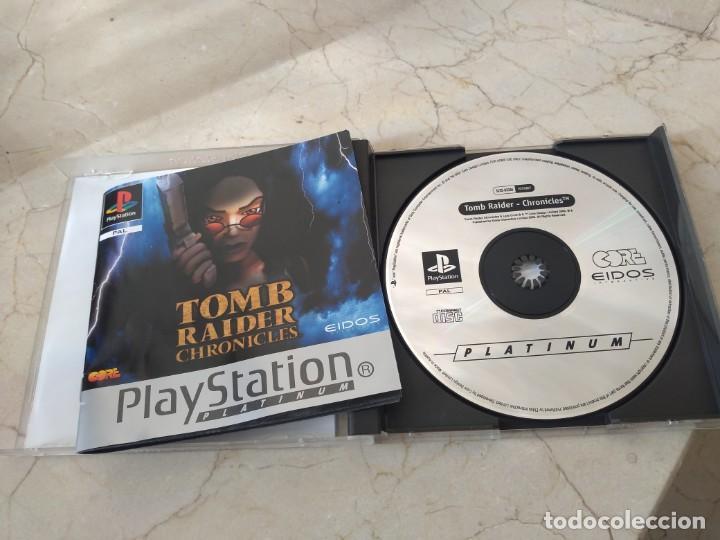 Videojuegos y Consolas: Juego playstation Tomb Raider ps1 Chroniques - Foto 2 - 194988913