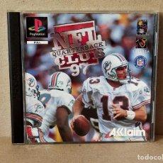 Videojuegos y Consolas: JUEGO VIDEOJUEGO PLAYSTATION PS1 - PSX PAL - NFL QUARTERBACK CLUB 97 - COMPLETO. Lote 195119040