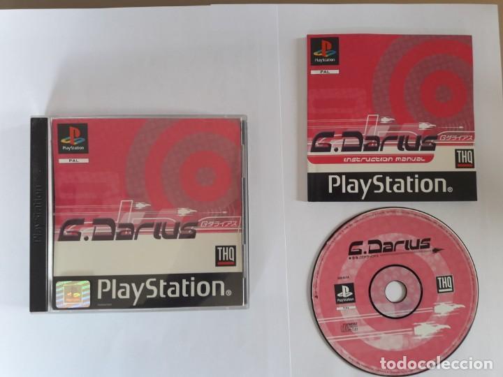 JUEGO PSX G.DARIUS (Juguetes - Videojuegos y Consolas - Sony - PS1)