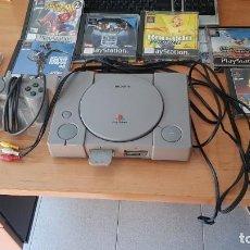 Videojuegos y Consolas: PS1 CON JUEGOS. Lote 195183460