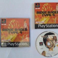 Videojuegos y Consolas: JUEGO PSX RIDGE RACER TYPE 4. Lote 195195225
