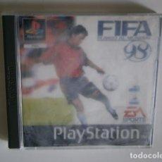 Videojuegos y Consolas: FIFA 98 PSX NO DISCO. Lote 195291345