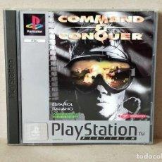 Videojuegos y Consolas: JUEGO VIDEOJUEGO PLAYSTATION PS1 - PSX PAL - COMMAND & CONQUER - COMPLETO . Lote 195310152