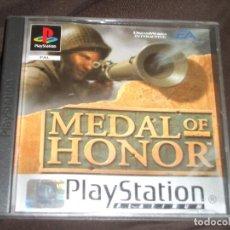 Videojuegos y Consolas: MEDAL OF HONOR PS1 - PSX BUEN ESTADO. Lote 195341075