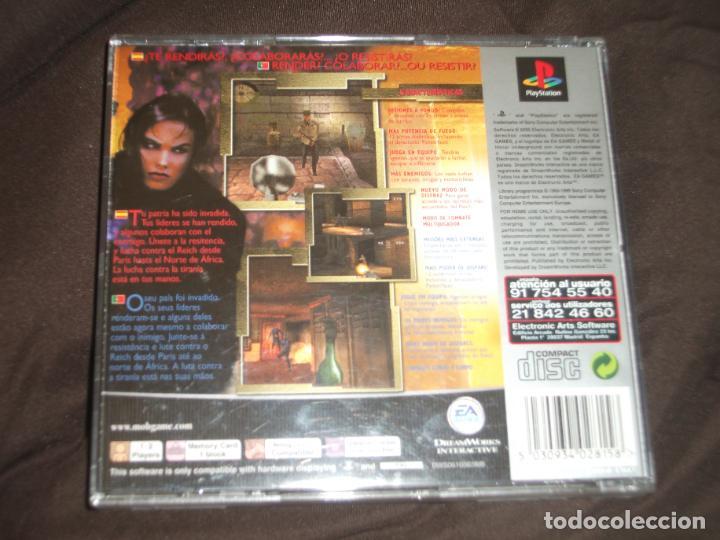 Videojuegos y Consolas: MEDAL OF HONOR UNDERGROUND PS1 - PSX CAJA DAÑADA FOTO - Foto 3 - 195341141