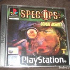 Videojuegos y Consolas: SPEC OPS COVERT ASSAULT PS1 - PSX CAJA DAÑADA FOTO. Lote 195341440