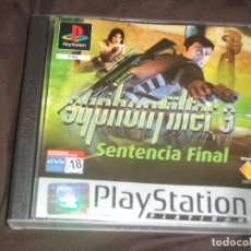 Videojuegos y Consolas: SYPHON FILTER 3 SENTENCIA FINAL PS1 - PSX SIN MANUAL. Lote 195341652