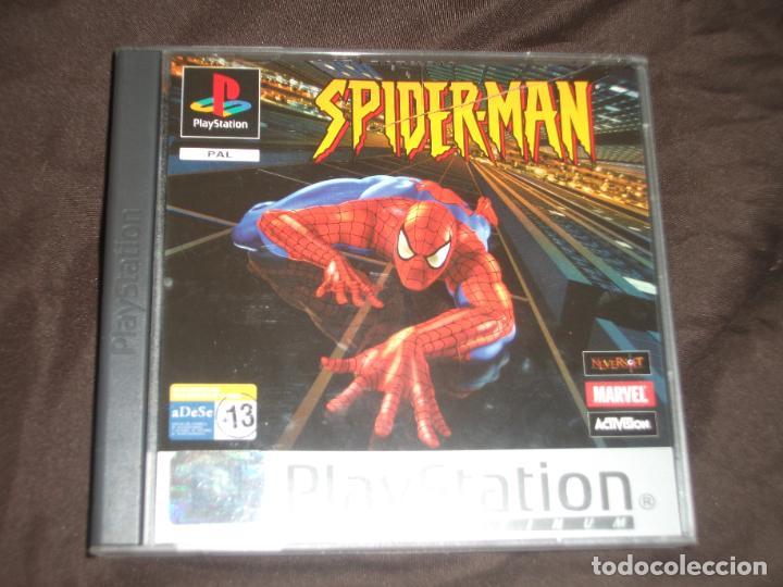SPIDERMAN PS1 - PSX COMPLETO (Juguetes - Videojuegos y Consolas - Sony - PS1)