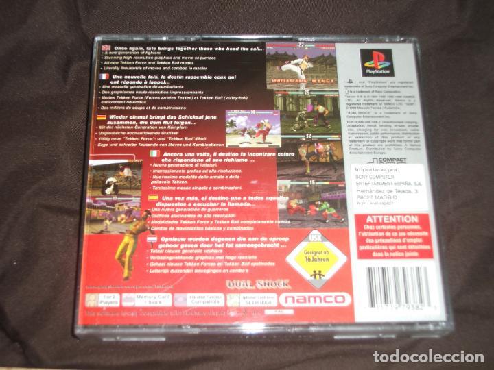 Videojuegos y Consolas: TEKKEN 3 COMPLETO PSX PS1 - Foto 3 - 195341875