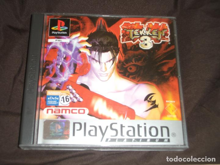 TEKKEN 3 COMPLETO PSX PS1 (Juguetes - Videojuegos y Consolas - Sony - PS1)