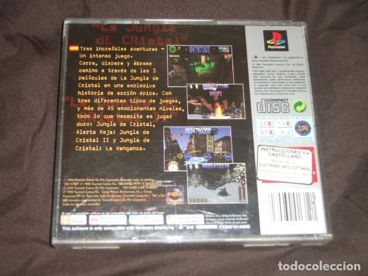Videojuegos y Consolas: JUNGLA DE CRISTAL TRIOLOGIA PSX PS1 - Foto 2 - 195342073