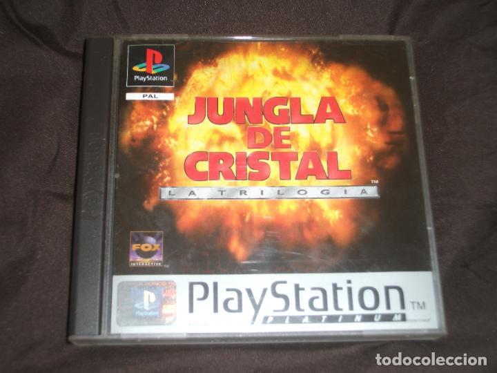 JUNGLA DE CRISTAL TRIOLOGIA PSX PS1 (Juguetes - Videojuegos y Consolas - Sony - PS1)