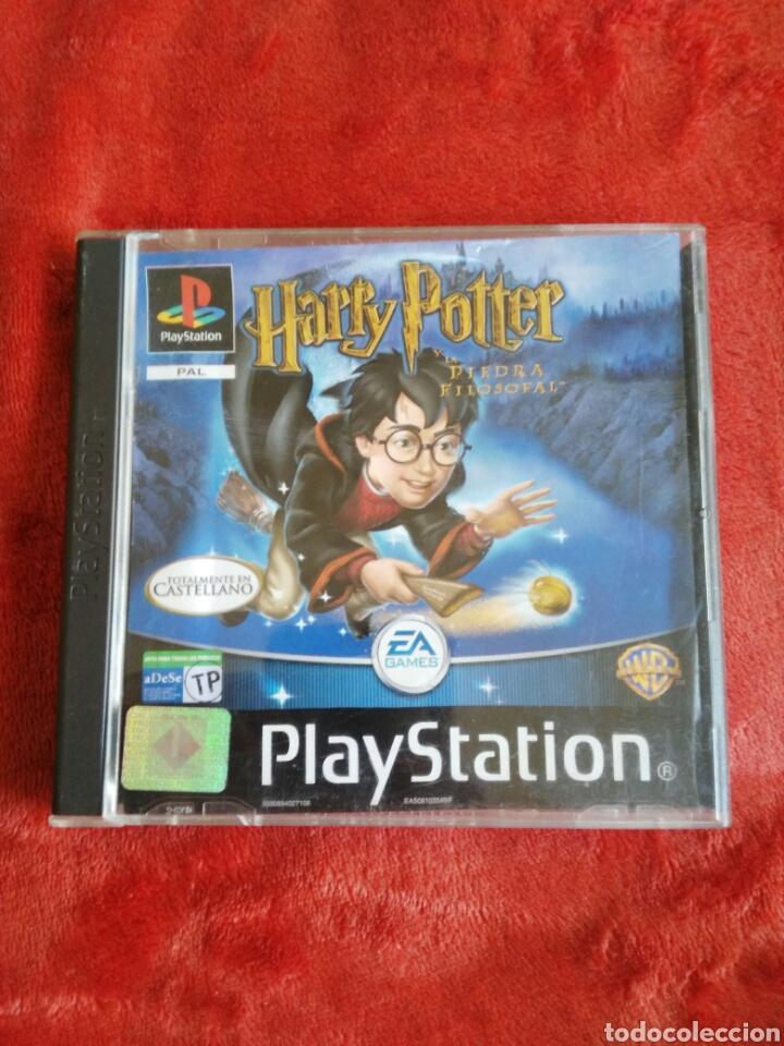 HARRY POTTER Y LA PIEDRA FILOSOFAL (Juguetes - Videojuegos y Consolas - Sony - PS1)