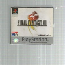 Videojuegos y Consolas: FINAL FANTASY VIII PLAYSTATION. Lote 195422726