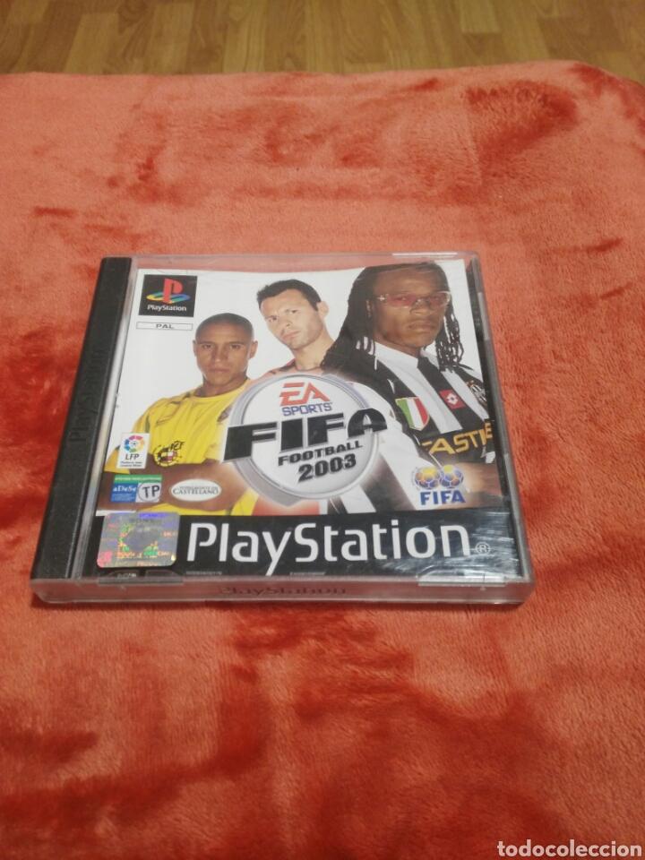 FIFA FOOTBALL 2003 (Juguetes - Videojuegos y Consolas - Sony - PS1)