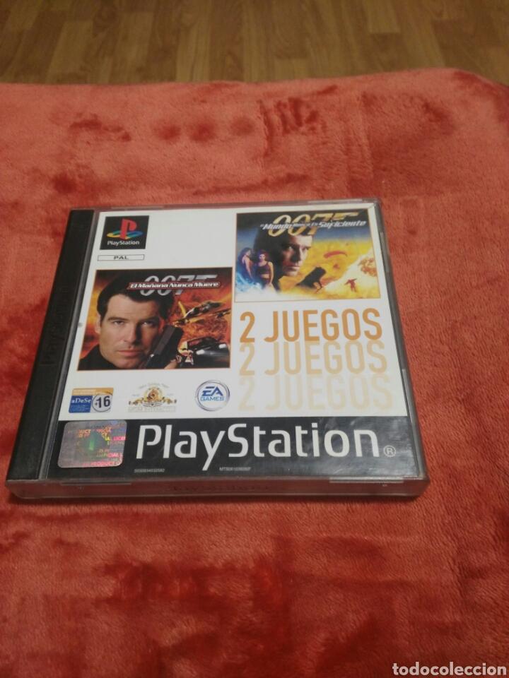 EL MAÑANA NUNCA MUERE Y EL MUNDO NUNCA ES SUFICIENTE (Juguetes - Videojuegos y Consolas - Sony - PS1)