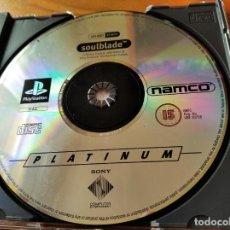 Videojuegos y Consolas: SOULBLADE - PLAYSTATION 1 PS1 PSX - PAL - FUNCIONANDO- SOLO DISCO. Lote 196208805