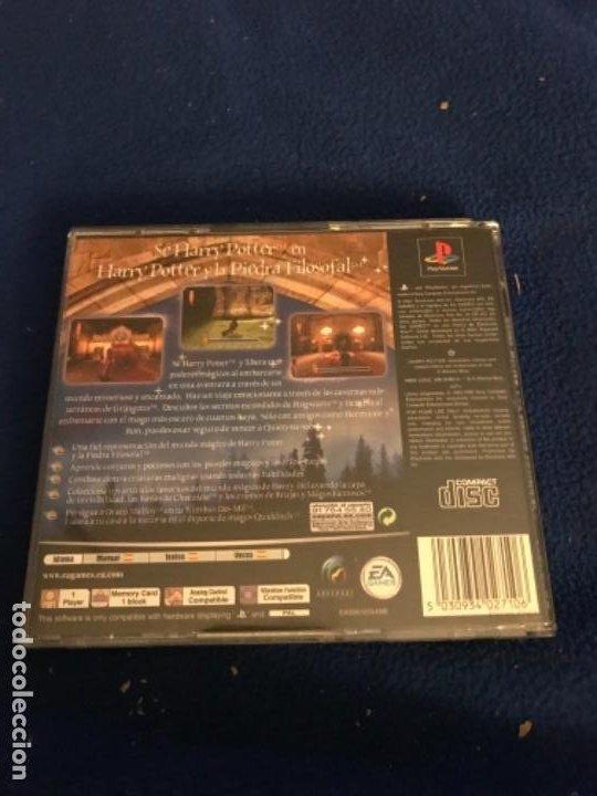 Videojuegos y Consolas: Harry Potter y la Piedra Filosofal. Play Station 1. - Foto 4 - 196518118