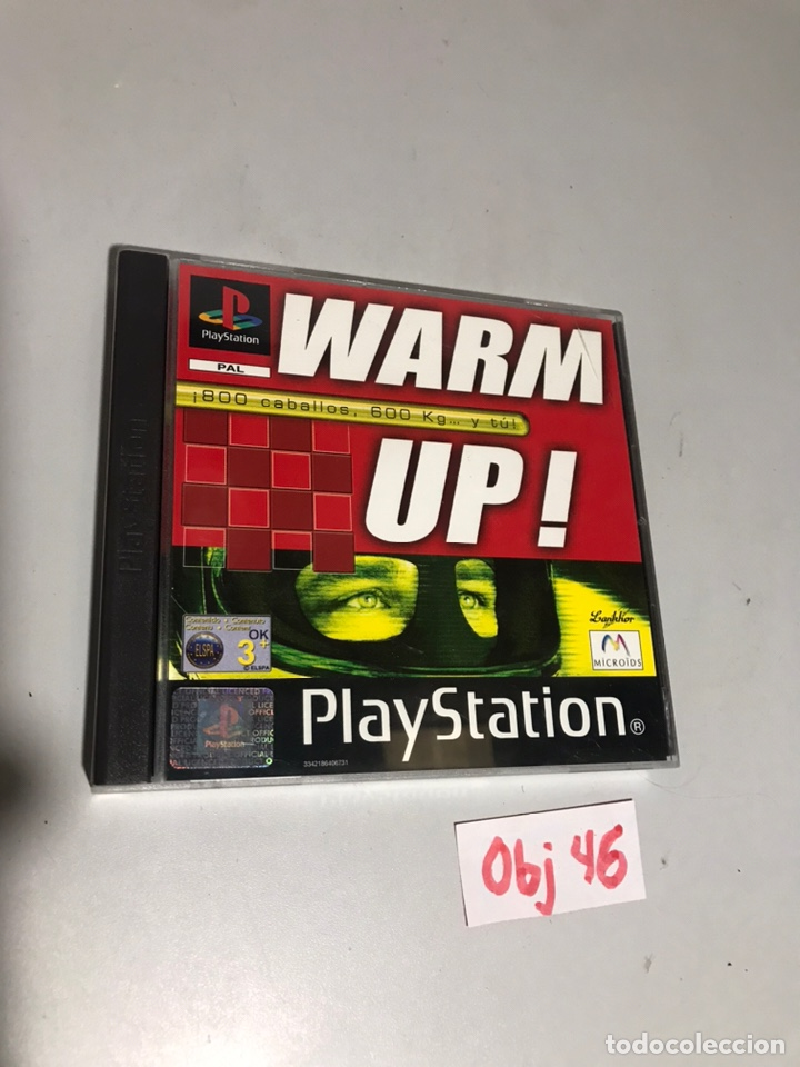 WARM UP! (Juguetes - Videojuegos y Consolas - Sony - PS1)