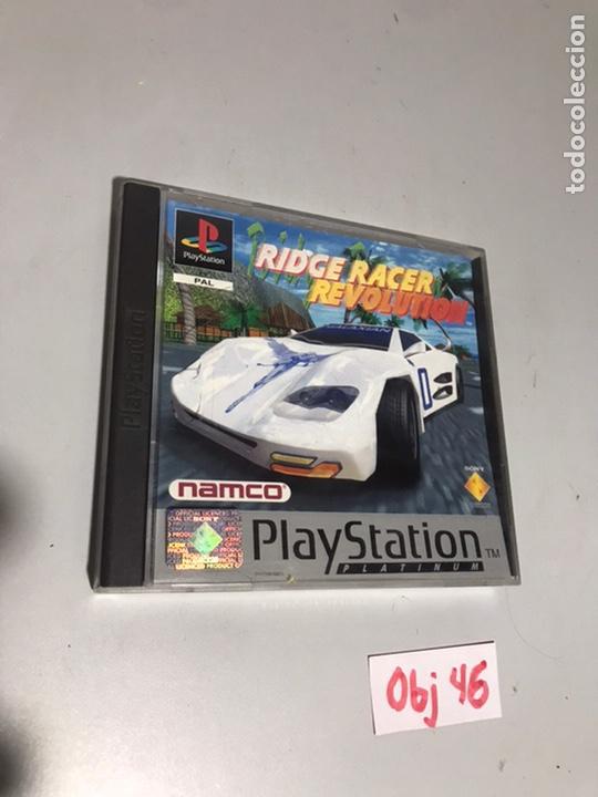 RIDGE RACER REVOLUTION (Juguetes - Videojuegos y Consolas - Sony - PS1)