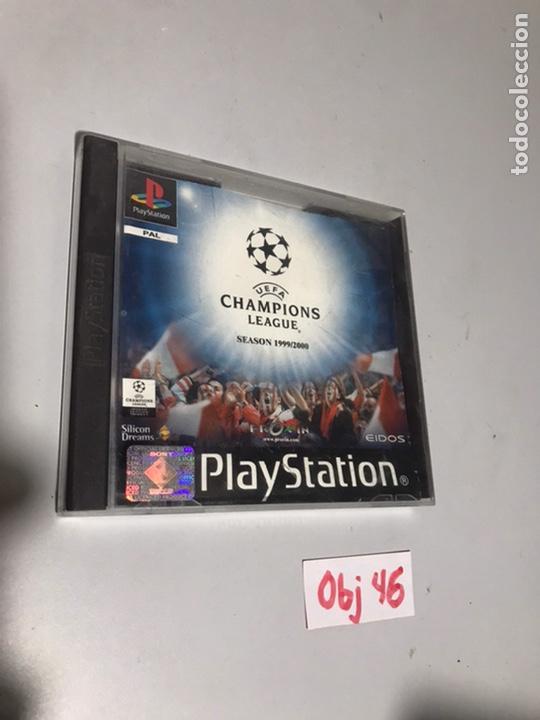 UEFA CHAMPIONS LEAGUE (Juguetes - Videojuegos y Consolas - Sony - PS1)