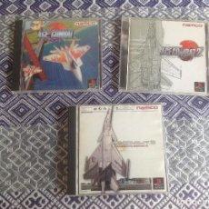 Videojuegos y Consolas: LOTE ACE COMBAT JAPONESES. PACK 3 . Lote 197407436