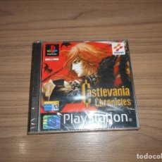 Videojuegos y Consolas: CASTLEVANIA CHRONICLES COMPLETO PLAYSTATION PAL ESPAÑA NO ESTRENADO. Lote 197778652