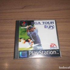Videojuegos y Consolas: PGA TOUR 98 COMPLETO PLAYSTATION PAL ESPAÑA. Lote 197778778