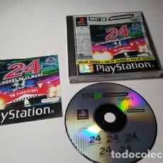 Videojuegos y Consolas: 24 HORAS DE LE MANS ( PLAYSTATION 1 - PAL - ESP) . Lote 198142023
