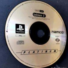 Videojuegos y Consolas: TEKKEN 3 - JUEGO PLAYSTATION PS1 - SOLO DISCO. Lote 198304648