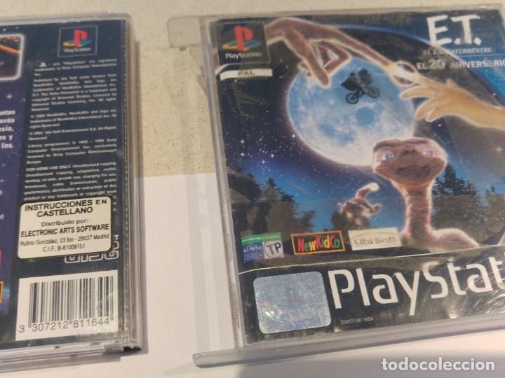 Videojuegos y Consolas: E.T. PLAYSTATION PS1 PSONE PSX PAL-ESPAÑA - Foto 2 - 198719300