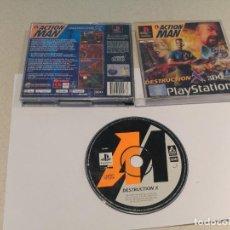 Videojuegos y Consolas: ACTION MAN PLAYSTATION PS1 PSONE PSX PAL-ESPAÑA . Lote 198719525