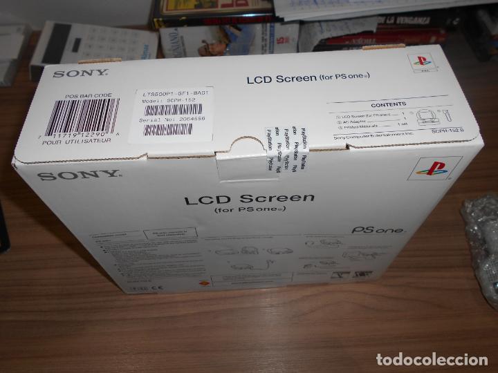 Videojuegos y Consolas: Pantalla LCD para PS ONE PLAYSTATION Original NUEVA SIN ESTRENAR - Foto 2 - 211849016