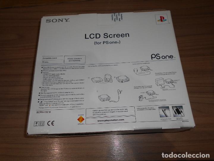 Videojuegos y Consolas: Pantalla LCD para PS ONE PLAYSTATION Original NUEVA SIN ESTRENAR - Foto 3 - 211849016