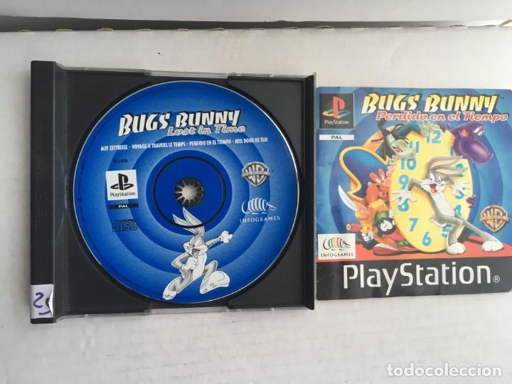 BUGS BUNNY LOST IN TIME PERDIDO EN EL TIEMPO PSX PSONE PS1 PS ONE PLAY STATION 1 PLAYSTATION SONY (Juguetes - Videojuegos y Consolas - Sony - PS1)
