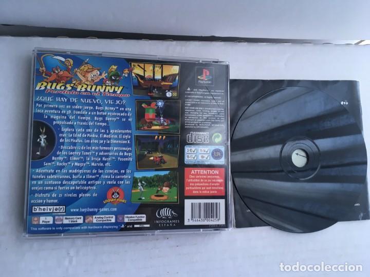 Videojuegos y Consolas: BUGS BUNNY LOST IN TIME PERDIDO EN EL TIEMPO PSX PSONE PS1 PS ONE PLAY STATION 1 PLAYSTATION SONY - Foto 2 - 211890595
