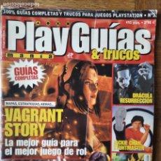 Videojuegos y Consolas: GUIAS PS1: VAGRANT HISTORY- SPYRO THE DRAGON- TEKKEN 3- JACKIE CHAN STUNTMASTER- DRACULA RESURRECCIO. Lote 199696960