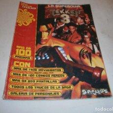 Videojuegos y Consolas: LA SUPERGUIA TEKKEN 3 PLAYSTATION PSX (SUPER JUEGOS). Lote 199765405