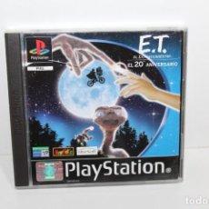 Videojuegos y Consolas: JUEGO PLAYSTATION 1 - ET EL EXTRATERRESTE - EL 20 ANIVERSARIO. Lote 199790871