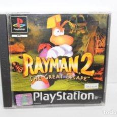 Videojuegos y Consolas: JUEGO PLAYSTATION 1 - RAYMAN 2 - THE GREAT ESCAPE. Lote 199791178