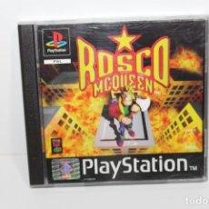 Videojuegos y Consolas: JUEGO PLAYSTATION 1 - ROSCO MCQUEEN. Lote 199791657