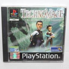 Videojuegos y Consolas: JUEGO PLAYSTATION 1 - TECHNOMAGE - EL RETORNO DE LA ETERNIDAD. Lote 199792786