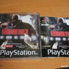 Videojogos e Consolas: RESIDENT EVIL 3 NEMESIS PS1. Lote 201168280