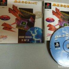Videojogos e Consolas: DESCENT - PSX PLAYSTATION 1 - PS1 PSONE - PAL UK. Lote 201748267
