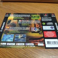 Videojuegos y Consolas: CARÁTULA TRASERA PLAYSTATION RAYMAN 2. Lote 198951290