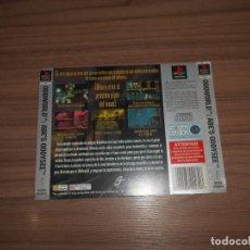 Videojuegos y Consolas: ODWORLD ABE'S ODDYSEE CONTRAPORTADA ORIGINAL PLAYSTATION PAL ESPAÑA CASTELLANO. Lote 203168198